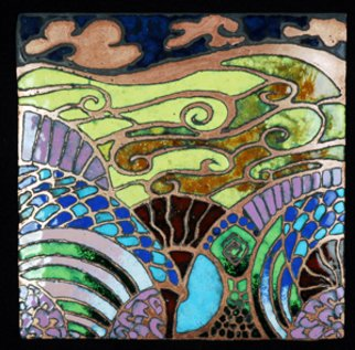 Nayna Shriyan Artwork Dreamworld, 2008 Vitreous Enameling, Fantasy