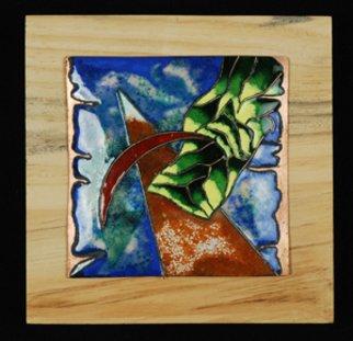 Nayna Shriyan Artwork Seascape 2, 2008 Vitreous Enameling, Abstract Landscape