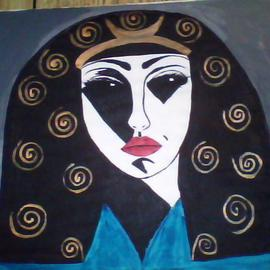 Mercedes Morgana Reyes Artwork Hecate, 2011 Acrylic Painting, Ethereal