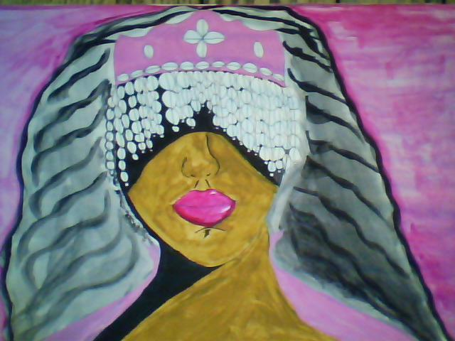 Mercedes Morgana Reyes  'Yewa', created in 2011, Original Painting Acrylic.
