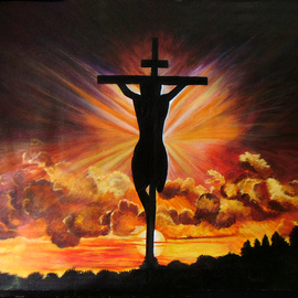 Incarnation  the Holy Soul Original Painting