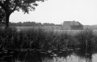Neil Howe: 'The Bunker', 1993 Black and White Photograph, Landscape. Artist Description:   The Netherlands        ...