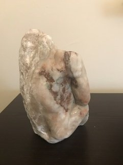 Patricia Nelson: 'excape', 2017 Stone Sculpture, Figurative. Artist Description: Patricia Nelson fine art contemporary figurative sculpture male nude. ...