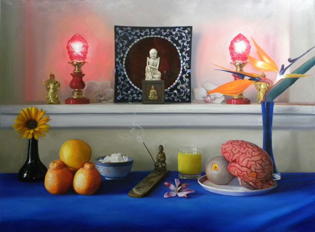 Richard Barone  'Orange Taste My Mouth', created in 2011, Original Painting Oil.