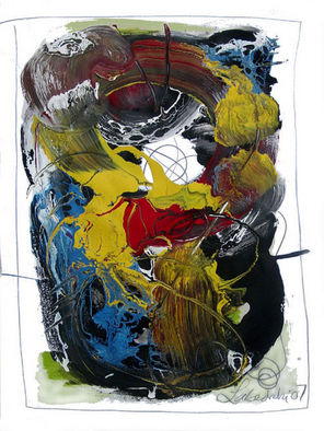 Annette Labedzki Artwork 2746, 2007 Mixed Media, Abstract