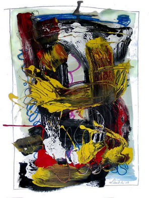 Annette Labedzki Artwork 2749, 2007 Mixed Media, Abstract