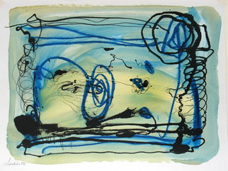 Annette Labedzki Artwork Abstract 017, 2008 Mixed Media, Abstract