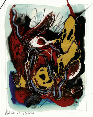 Annette Labedzki Artwork Abstract 207, 2009 Mixed Media, Abstract