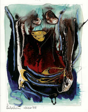 Annette Labedzki Artwork Abstract 209, 2009 Mixed Media, Abstract