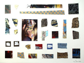 Collage by Annette Labedzki titled: Collage 4, created in 2010