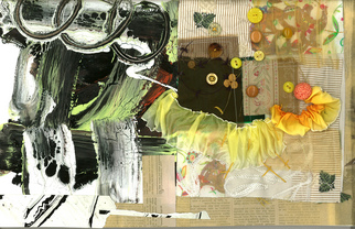 Collage by Annette Labedzki titled: Collage 400, created in 2008