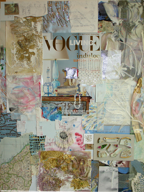 Collage by Annette Labedzki titled: Collage 510, created in 2009