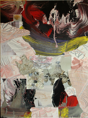 Collage by Annette Labedzki titled: Collage 511, created in 2009