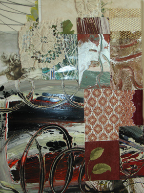 Collage by Annette Labedzki titled: Collage 518, 2009