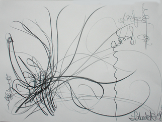 Annette Labedzki Artwork Drawing 1, 2008 Pencil Drawing, Abstract