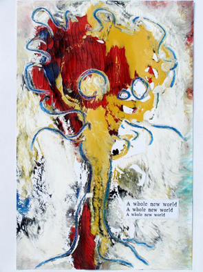 Annette Labedzki Artwork It Is a Whole New World, 2010 Mixed Media, Abstract Figurative