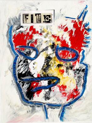 Annette Labedzki Artwork Joe Schmoe, 2010 Mixed Media, Abstract