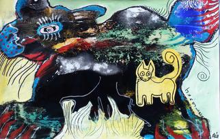 Annette Labedzki Artwork Jungle, 2011 Mixed Media, Abstract Figurative