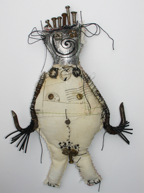 Annette Labedzki Artwork Kimball, 2009 Mixed Media Sculpture, Abstract Figurative