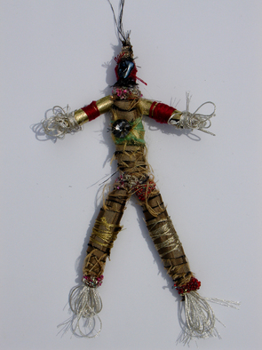 Annette Labedzki Artwork Kora, 2009 Mixed Media Sculpture, Abstract Figurative