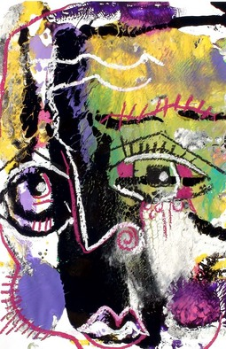 Annette Labedzki Artwork Lust, 2010 Mixed Media, Abstract Figurative