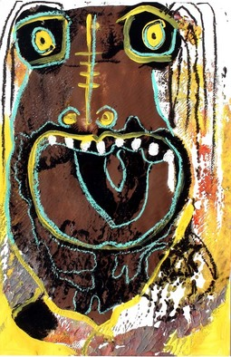 Annette Labedzki Artwork Mental Power, 2010 Mixed Media, Abstract Figurative