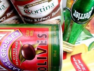Artist: Annette Labedzki - Title: My Garbage - Medium: Color Photograph - Year: 2009