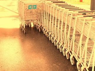 Annette Labedzki Artwork Shopping Carts, 2010 , Abstract
