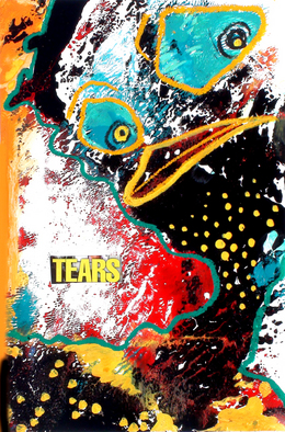 Annette Labedzki Artwork The Clarity of Tears, 2010 Mixed Media, Abstract Figurative