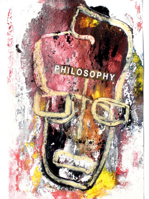 Annette Labedzki Artwork The Philosopher, 2010 Mixed Media, Abstract Figurative