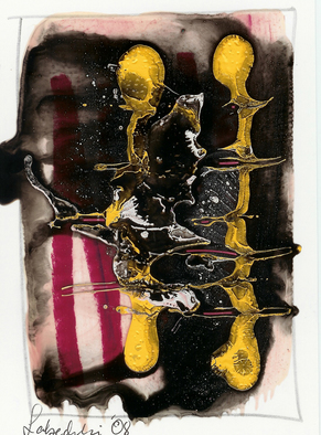 Annette Labedzki Artwork Untitled mixed media, 2008 Mixed Media, Abstract