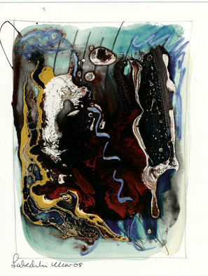 Annette Labedzki Artwork abstraxt 208, 2009 Mixed Media, Abstract