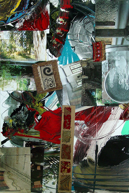 Collage by Annette Labedzki titled: collage 11, created in 2006