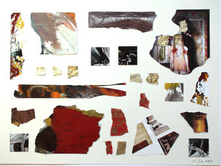 Collage by Annette Labedzki titled: collage 3, created in 2010