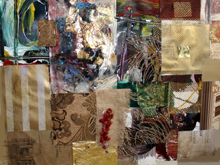 Collage by Annette Labedzki titled: collage 31, created in 2008