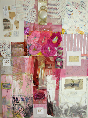 Collage by Annette Labedzki titled: collage 514, created in 2009