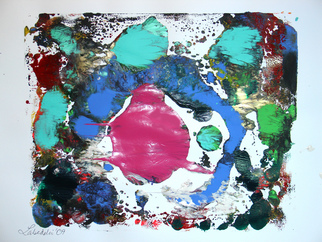 Annette Labedzki Artwork monoprint 584, 2009 Monoprint, Abstract