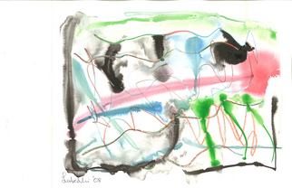 Annette Labedzki Artwork watercolor, 2008 Watercolor, Abstract