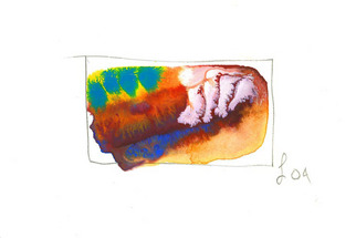 Artist: Annette Labedzki - Title: watercolor 2009 - Medium: Watercolor - Year: 2004