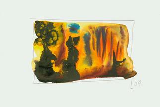 Artist: Annette Labedzki - Title: watercolor  2021 - Medium: Watercolor - Year: 2004