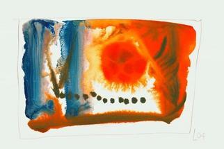 Artist: Annette Labedzki - Title: watercolor  2029 - Medium: Watercolor - Year: 2004