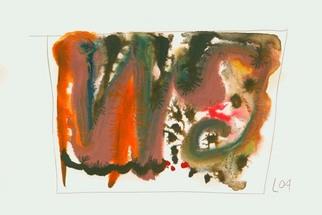 Artist: Annette Labedzki - Title: watercolor  2031 - Medium: Watercolor - Year: 2004