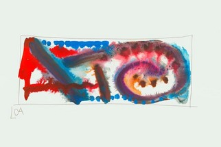 Artist: Annette Labedzki - Title: watercolor  2042 - Medium: Watercolor - Year: 2004