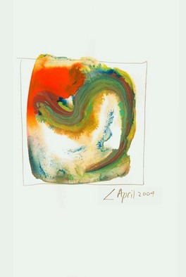 Artist: Annette Labedzki - Title: watercolor  2044 - Medium: Watercolor - Year: 2004