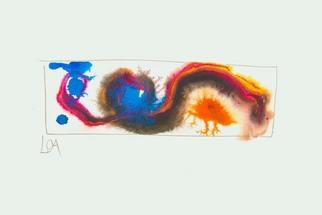 Artist: Annette Labedzki - Title: watercolor  2049 - Medium: Watercolor - Year: 2004