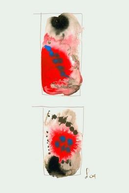 Artist: Annette Labedzki - Title: watercolor  2058 - Medium: Watercolor - Year: 2004