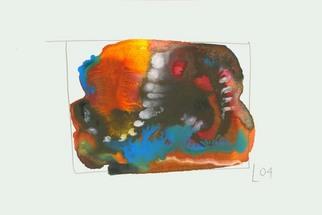 Artist: Annette Labedzki - Title: watercolor  2073 - Medium: Watercolor - Year: 2004