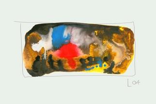 Artist: Annette Labedzki - Title: watercolor  2082 - Medium: Watercolor - Year: 2004