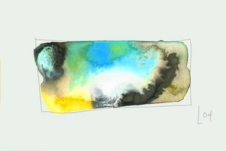 Artist: Annette Labedzki - Title: watercolor  2091 - Medium: Watercolor - Year: 2004