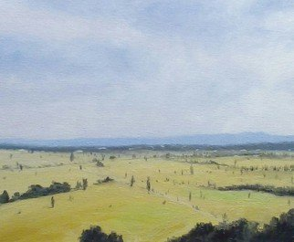 Terry Dower Artwork Hawkesbury Landscape, 2015 Oil Painting, Impressionism
